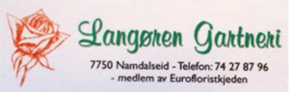 Langøren Gartneri logo