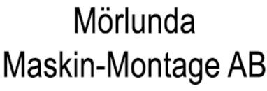 Mörlunda Maskin-Montage AB logo