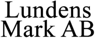 Lundens Mark AB logo