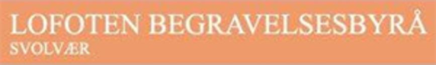 Lofoten Begravelsesbyrå logo