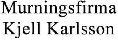 Murningsfirma Kjell Karlsson logo