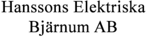 Hanssons Elektriska Bjärnum AB logo