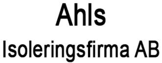 Ahls Isoleringsfirma, AB logo