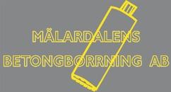 Mälardalens Betongborrning AB logo