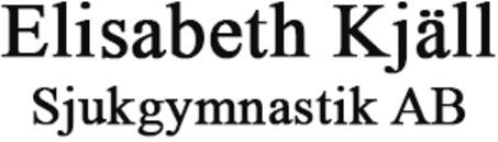Elisabeth Kjäll Sjukgymnastik AB logo