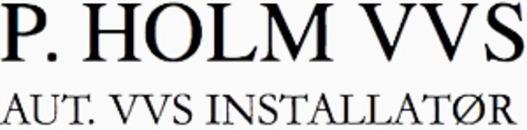 P. Holm VVS logo