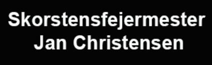 Skorstensfejermester Jan Christensen logo