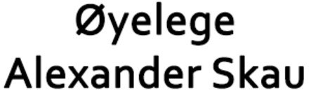 Øyelege Alexander Skau (Klinikk S AS) logo
