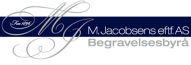 M. Jacobsens eftf. Begravelsesbyrå AS logo