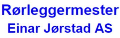 Rørleggermester Einar Jørstad AS logo