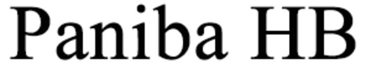 Paniba HB logo