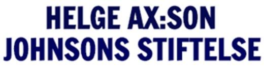 Johnsons Stiftelse, Helge Ax:son logo