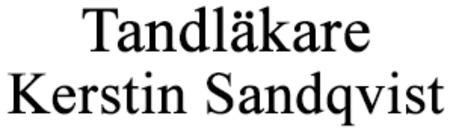 Tandläkare Kerstin Sandqvist logo