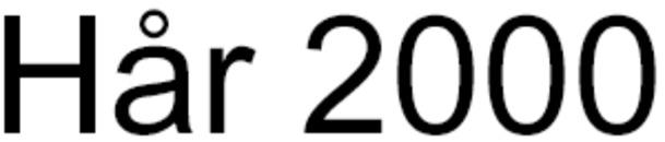 Hår 2000 logo