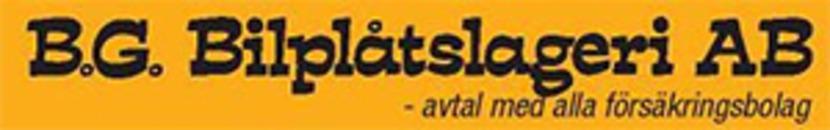 B G Bilplåtslageri AB logo