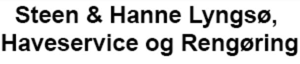 Steen & Hanne Lyngsø, Haveservice og Rengøring logo