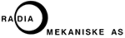 Radia Mekaniske AS logo