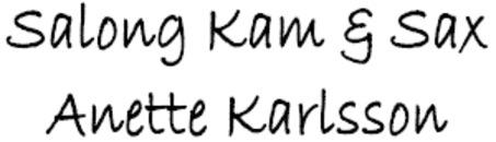 Salong Kam & Sax Anette Karlsson logo
