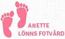 Anette Lönns Fotvård logo