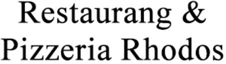 Restaurang & Pizzeria Rhodos logo