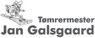 Tømrermester Jan Galsgaard logo