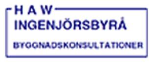 H A W Ingenjörsbyrå logo