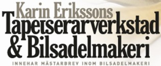 Erikssons Tapetserarverkstad & Bilsadelmakeri logo