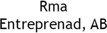 Rma Entreprenad, AB logo