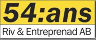 54:ans riv&entreprenad AB logo