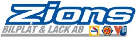 Zions Bilplåt och Lack AB logo