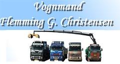 Vognmand Flemming G. Christensen logo