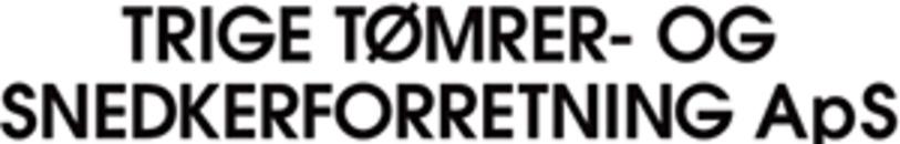 Trige Tømrer- og Snedkerforretning ApS logo