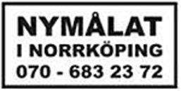 Nymålat i Norrköping AB logo