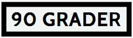 90 Grader logo