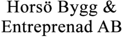 Horsö Bygg & Entreprenad AB logo
