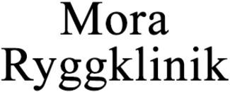 Mora Ryggklinik logo