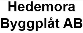 Hedemora Byggplåt AB logo
