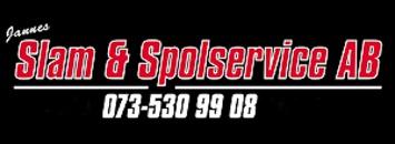Jannes Slam- och Spolservice AB logo