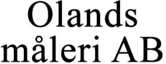 Olands måleri AB logo
