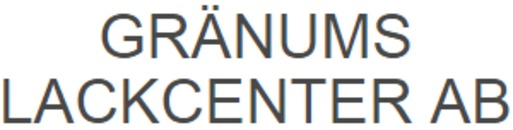 Gränums Lackcenter AB logo