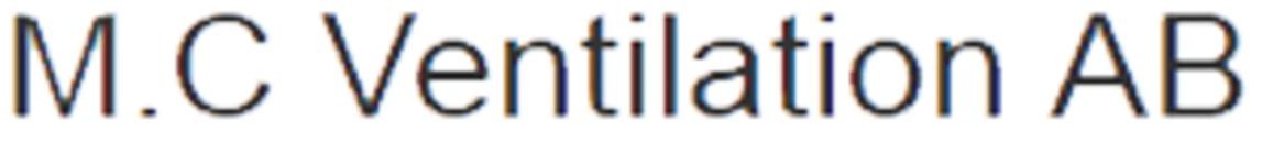 M.C Ventilation AB logo