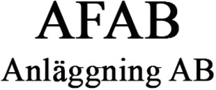 AFAB Anläggning AB logo
