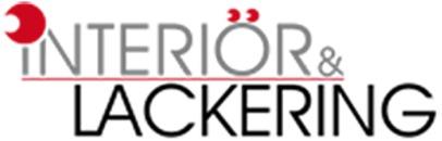 Interiör & Lackering i Ronneby AB / Dekalskylt och lackering logo