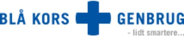 Blå Kors Genbrug Viborg, tøj logo