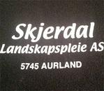 Skjerdal Landskapspleie AS logo