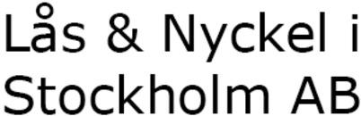 Lås & Nyckel i Stockholm AB logo