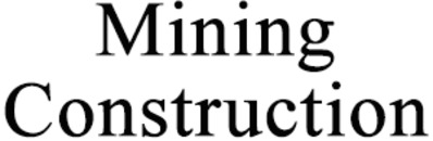 Mining Construction i Gällivare AB logo
