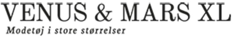 Venus & Mars XL - Modetøj i store størrelser logo