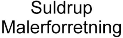 Suldrup Malerforretning logo