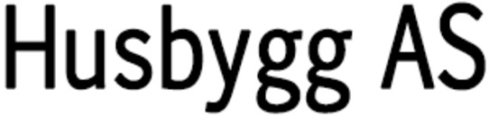 Husbygg AS logo